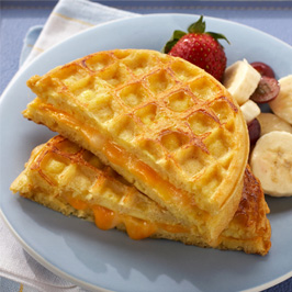 Egg And Cheese Waffle Sandwich Recipes — Dishmaps